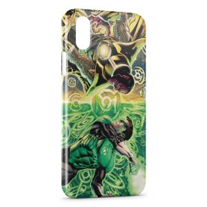 Coque iPhone XS Max Green Lantern Corps
