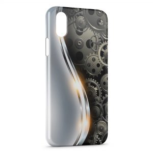 Coque iPhone XS Max Guitar Engrenages