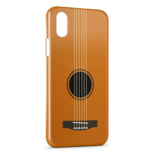 Coque iPhone XS Max Guitare Cordes 2