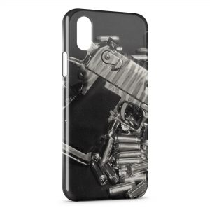 Coque iPhone XS Max Guns & Bullets