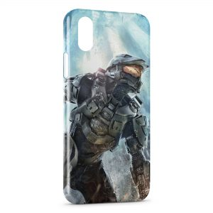 Coque iPhone XS Max Halo Video Jeu Game
