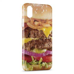 Coque iPhone XS Max Hamburger