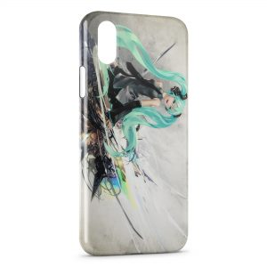 Coque iPhone XS Max Hatsune Miku 2