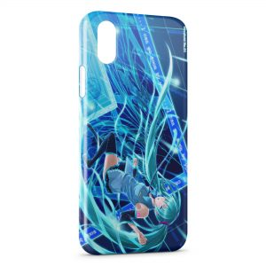 Coque iPhone XS Max Hatsune Miku - Vocaloid 2
