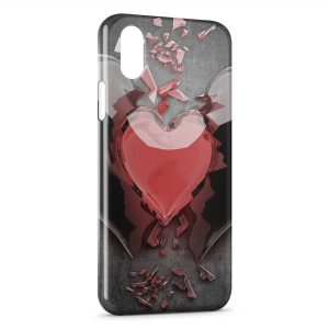 Coque iPhone XS Max Heart 2
