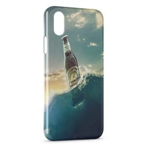 Coque iPhone XS Max Heineken