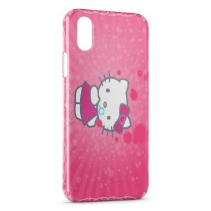 Coque iPhone XS Max Hello Kitty 3