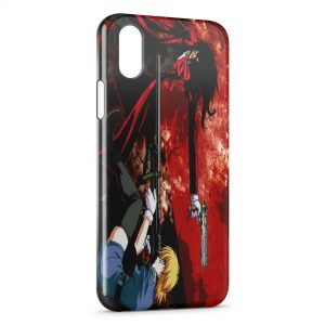 Coque iPhone XS Max Hellsing Manga