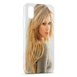 Coque iPhone XS Max Hilary Duff