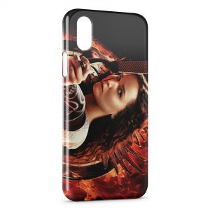 Coque iPhone XS Max Hunger Games 5