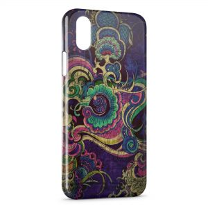 Coque iPhone XS Max Indian Art 2