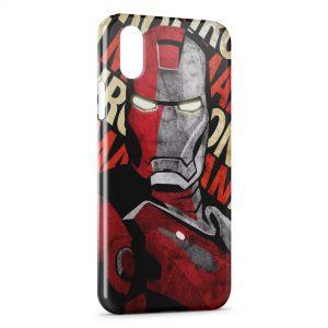 Coque iPhone XS Max Iron Man Design Art