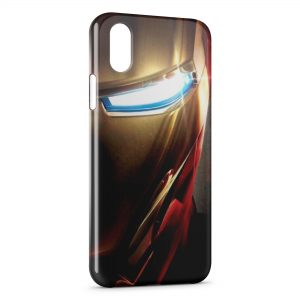 Coque iPhone XS Max Iron Man Eye