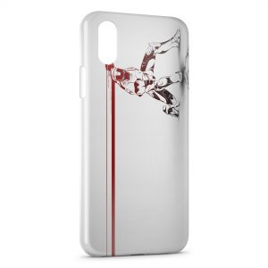 Coque iPhone XS Max Iron Man Tony Stark