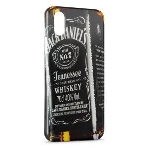Coque iPhone XS Max Jack Daniel's Black Design 3