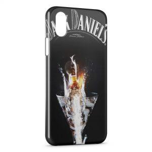 Coque iPhone XS Max Jack Daniel's Cocktail