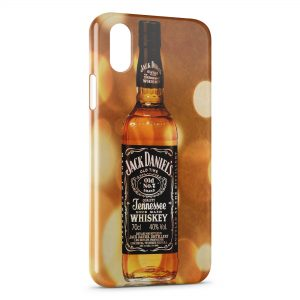 Coque iPhone XS Max Jack Daniel's Gold 3