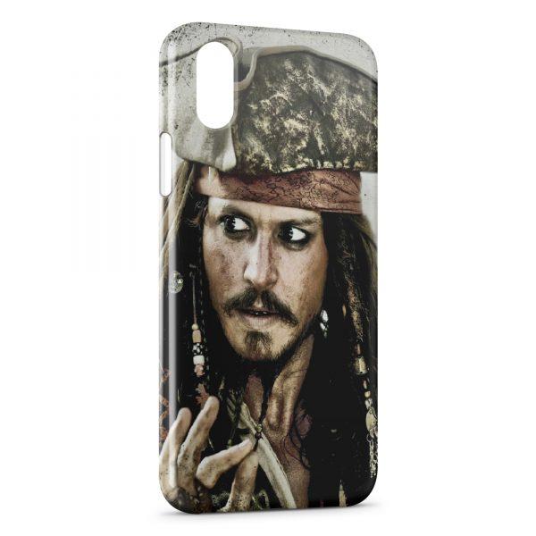 Coque iPhone XS Max Jack Sparrow