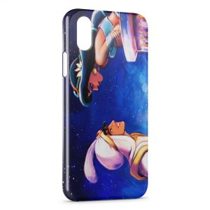 Coque iPhone XS Max Jasmine et Aladdin