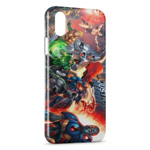 Coque iPhone XS Max Justice League