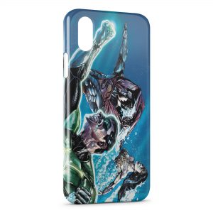 Coque iPhone XS Max Justice League of America