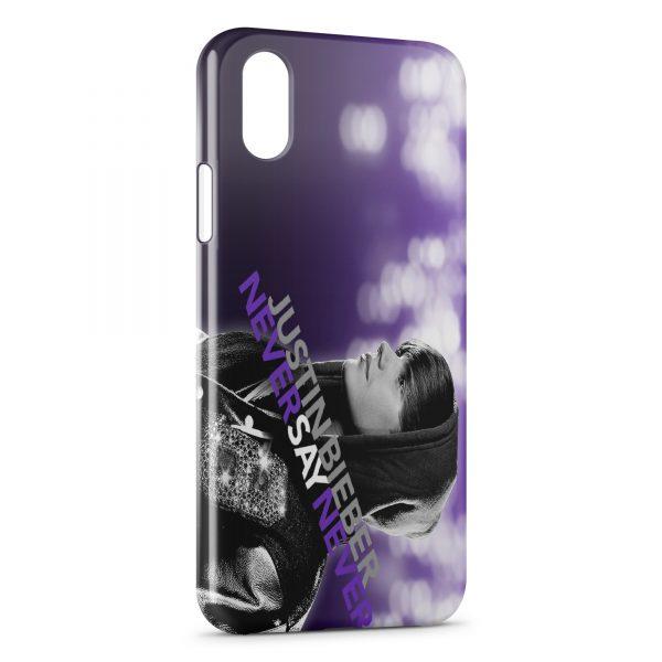 Coque iPhone XS Max Justin Bieber 2