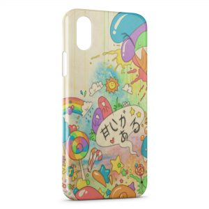 Coque iPhone XS Max Kawaii Style