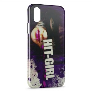 Coque iPhone XS Max Kickass Hit Girl