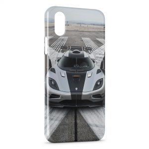 Coque iPhone XS Max Koenigsegg one classic Voiture