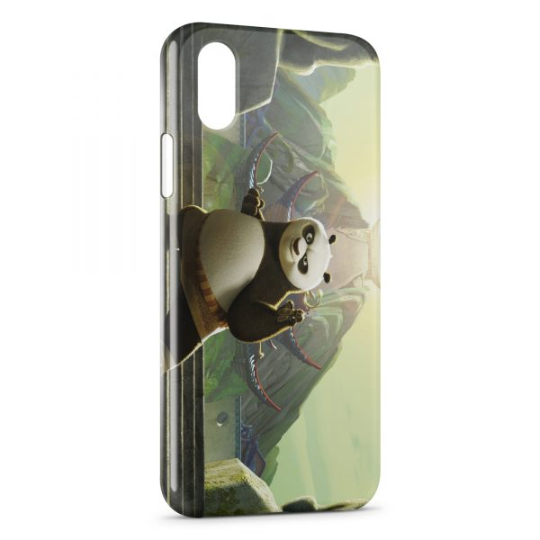 Coque iPhone XS Max Kung Fu Panda 2