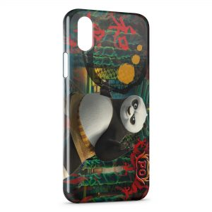 Coque iPhone XS Max Kung Fu Panda 4