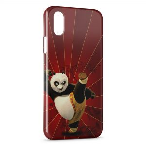 Coque iPhone XS Max Kung-Fu Panda Red 6