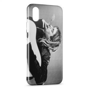 Coque iPhone XS Max Kurt Cobain