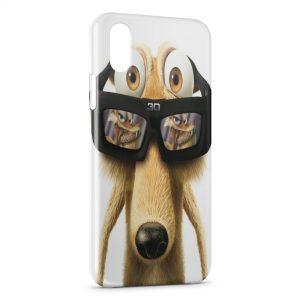 Coque iPhone XS Max L'Age de Glace 3D