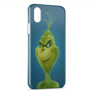 Coque iPhone XS Max Le Grinch Animation Art