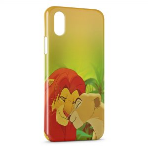 Coque iPhone XS Max Le Roi Lion