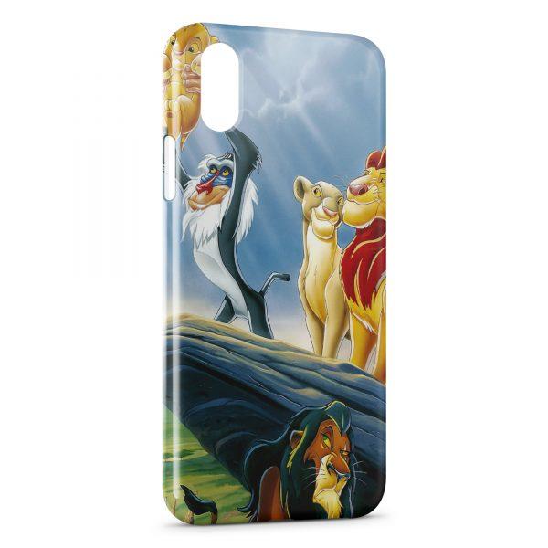coque iphone xs max le roi lion