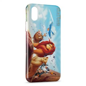 Coque iPhone XS Max Le Roi Lion 8