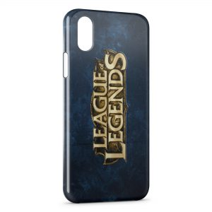 Coque iPhone XS Max League of Legends