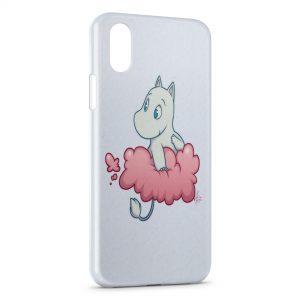 Coque iPhone XS Max Les Moomins