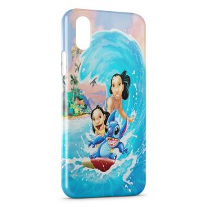 Coque iPhone XS Max Lilo & Stitch 2