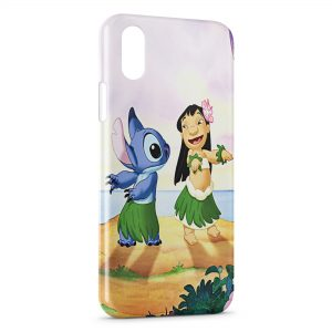 Coque iPhone XS Max Lilo & Stitch 3