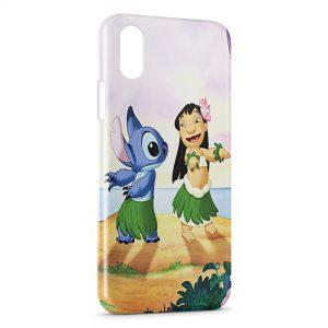 Coque iPhone XS Max Lilo & Stitch 3