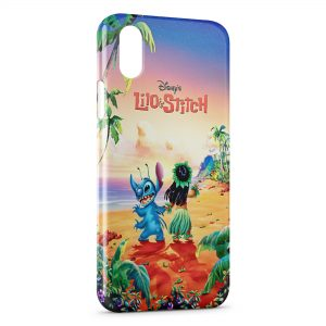 Coque iPhone XS Max Lilo & Stitch
