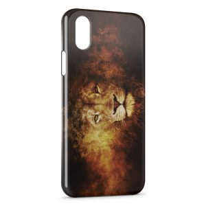 Coque iPhone XS Max Lion 2