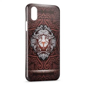 Coque iPhone XS Max Lion King Design
