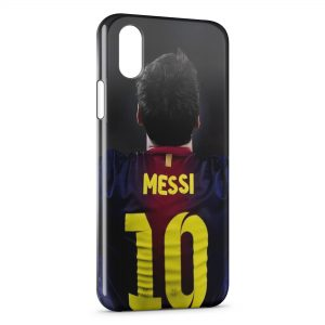 Coque iPhone XS Max Lionel Messi Football 13