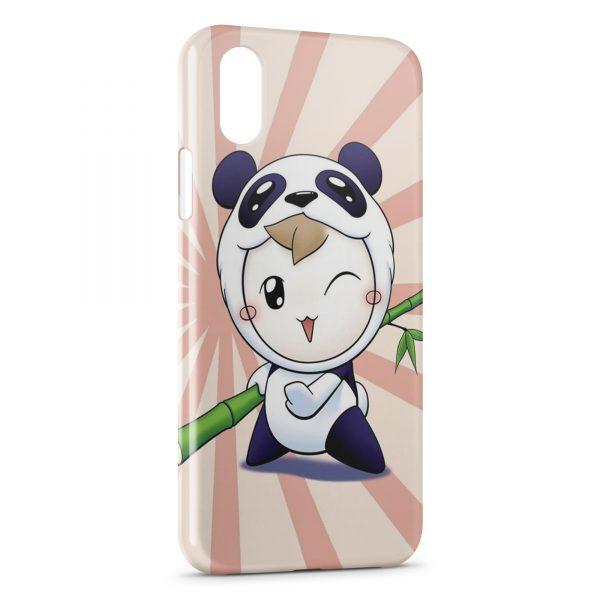 Coque iPhone XS Max Little Panda