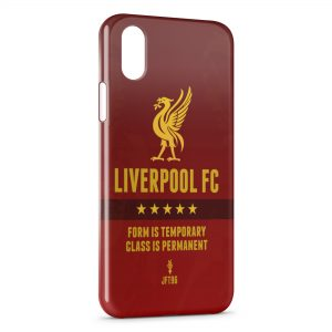 Coque iPhone XS Max Liverpool FC Football 4