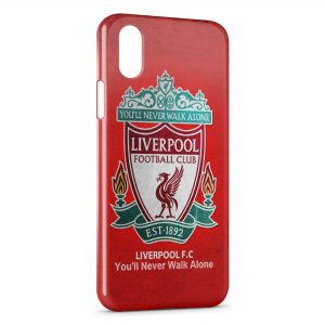 Coque iPhone XS Max Liverpool FC Football 5